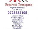 Reparatii tamplarie PVC si AL