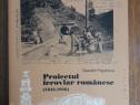Proiectul feroviar romanesc - Toader Popescu, autograf
