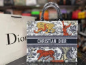 Geanta Ch.Dior tip sacosa material textil/Franta