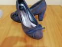Pantofi piele intoarsa