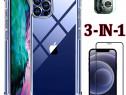 IPhone 12 / MINI PRO MAX Husa Anti Soc Din Silicon Transpa