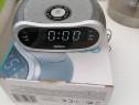 Radio cu ceas, nou nouț calitate la cutie.