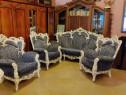 Set canapele cu fotolii stil Baroc,Rococo, Venețian