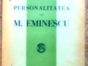 Personalitatea lui M. Eminescu, D. Caracostea, 1926