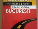 Romania. Atlas turistic si rutier.Ghidul strazilor Bucuresti