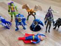 Super Eroi - 9 figurine Batman Superman Hawkman TMNT