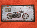 Made in the USA-reclama metalica vintage-un cadou inedit