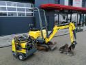 Miniexcavator Wacker Neuson 803 cu sistem HPU