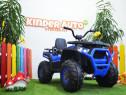 ATV electric XMX607 2x45W 12V cu Scaun tapitat #Blue