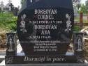 Cruci negre din granit natural Românesc