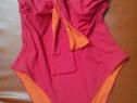 Costum de baie 2 in 1 - rosu sau portocaliu