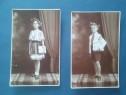 Lot 2 fotografii cu copii premianti