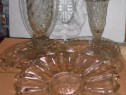 3 piese sticlarie vintage