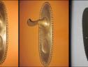 Shield- aparatoare vechi, perioada interbelica din bronz.