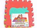 Saltea de joaca pt copii - covoras puzzle - 0,80mp - noua