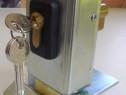 Yala electrica cu zăvor rotativ,montaj vertical