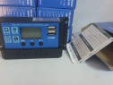 Regulator solar 10A 20A 30A 60A 12v/24v LCD USB pwm