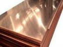 Tabla cupru - arama 0.4x1000x2000mm alimentar electric alama