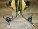 Lustra/Veioza/Aplica/Luminator 4 Becuri din Lemn Deosebita