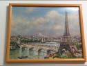 Tablou Paris Tour Eiffel,Podul Alexandru,Sacre Coeur