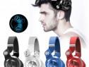 Casti Bluedio T2+ Bluetooth 4.1, Wireless, microfon, mSD, FM