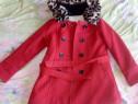 Palton fetite imblanit