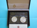 Set monede comemorative argint - san marino, 1986 - fdc