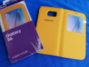 Husa Noua Originala S-View activa Samsung Galaxy S6