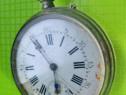 Patent lever ceas buzunar perioada 1800-gravat- capace duble