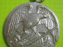 Medalia Tir-Vanator Dieter Haller 1977-cca 4 cm.
