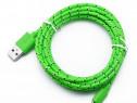 Cablu Date si Incarcare Micro Usb Cablu Verde C208
