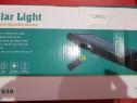 Lampa solara cu telecomanda