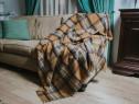 Patura din lana, model Ilinca, 150x180