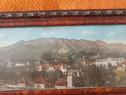 Tablou de colecție cu Stațiunea Sinaia