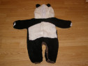Costum carnaval serbare animal urs panda de 6-9 luni