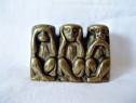 Trei maimute bronz an 1955
