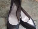 Pantofi dama Vince Camuto, piele naturala, marimea 36,5