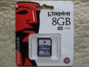 KINGSTON, Anglia, SD Card 8GB, nou, sigilat, eventual schimb