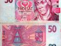 Lot 2 bancnote cehia 1997-1998 - circulate