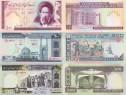 Lot 11 bancnote IRAN 1982-2017 - UNC