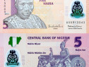 Lot 4 bancnote NIGERIA polymer 2007-2011 - UNC