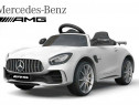 Kinderauto Mercedes GT-R 2x25W, USB, USI, LED, Radio #alb
