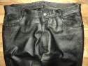 Pantaloni clasici JCC de strada,rock,moto piele naturala 52