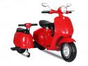 Scuter electric pentru copii cu 2 locuri City Scooter 35W 12
