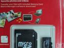 Card memorie microsd + adaptor 16 gb nou memory card microsd
