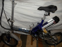 Bicicleta electrica pliabila din aluminiu