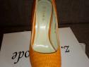 Pantofi 37 portocalii