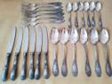 Set complet tacamuri argintate ( 24 bucati )