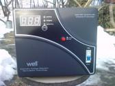 Stabilizator automat de tensiune WELL AVR 5000, sigilat