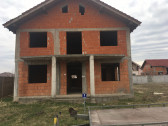 Casa in rosu Grigorescu Oradea P+E ridicata si acoperita